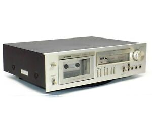 Vintage-Pioneer-CT-F550-Stereo-Cassette-Tape-Deck-Player-Recorder-No-Working