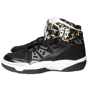Adidas Mutombo Basketball Shoes Trainers Men s Sports Shoes Black ... f4a17a136