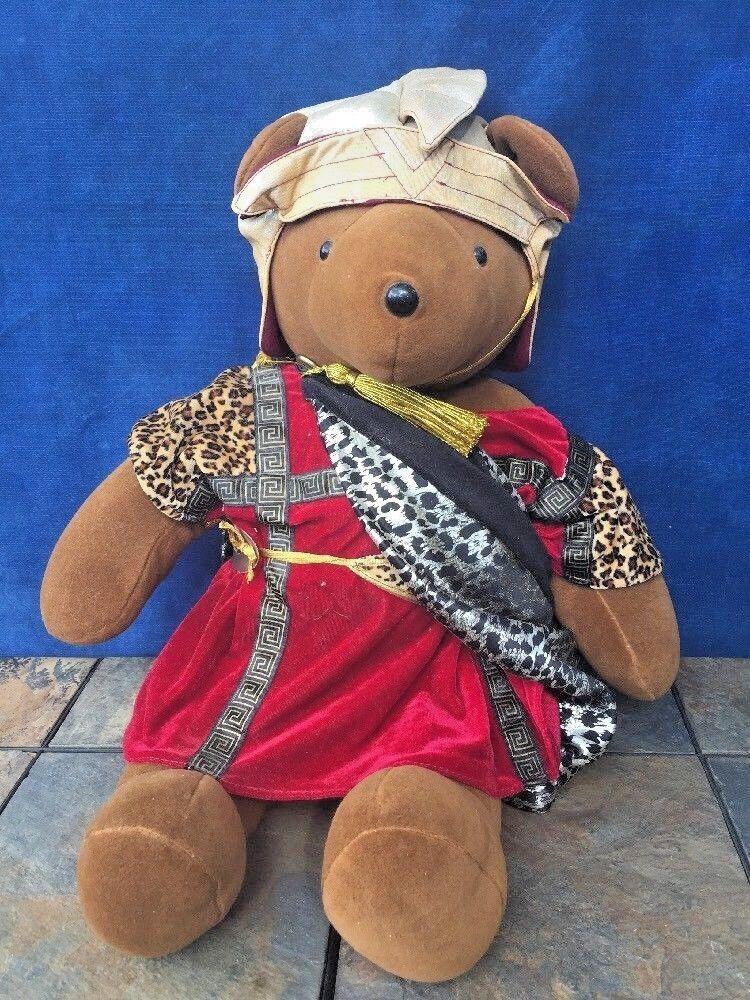 VINTAGE Richard Bearton Burton Marc Antony North American Bear Co. Teddy ❤️j8