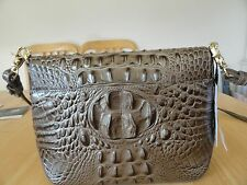 new with tag Ayla pewter Melbourne Genine Leather