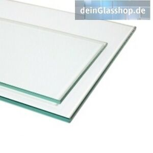 klarglas floatglas esg 6mm zuschnitt auf ma glasplatte glasscheiben glasboden ebay. Black Bedroom Furniture Sets. Home Design Ideas