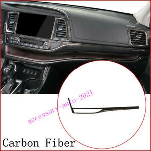For Toyota Highlander 2015-2018 Center Console Dashboard Moulding Trim