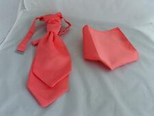 Shiny Silver BOYS Scrunchie Ruche Polyester CRAVAT-Tie/>More U Buy />More £ U Save