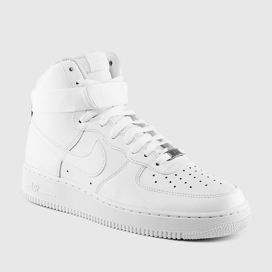 315121-115 Men's Nike Air Force 1 High '07 Shoe   WHITE/WHITE