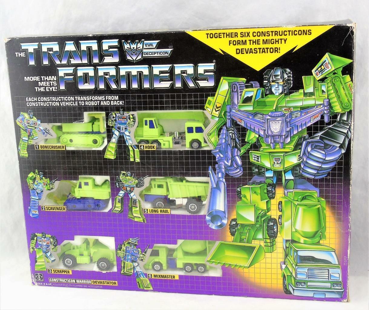 Transformers Original G1 1985 Devastator Gift Set Complete w  Box