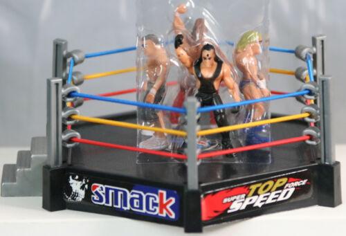 Smack Down RAW Wrestler Superstar Fight Ring SET Action Figures Wrestling WWE