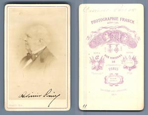 Casimir Perier CDV Vintage Albumen Carte De Visite