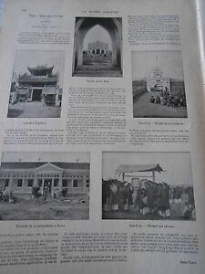 1899 Article De Presse Extrême Orient Au Tonkin Nam Dinh Padoge Hanoi RafraîChissant Et Enrichissant La Salive