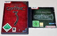 GOTHIC 3 III & ADD ON GÖTTERDÄMMERUNG - GOLD EDITION - PC DVD