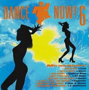 Dance-Now-6-1994-Culture-Beat-Jam-amp-Spoon-DJ-Bobo-General-Base-Ja-2-CD