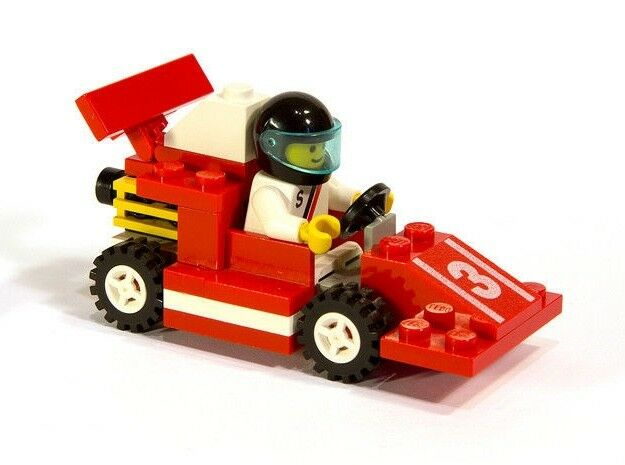 Lego 6509 Town Red Devil Racer Complete With Instructions Ebay