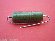 Condensador 0.1 Uf 160V Capacitor Aceite Paper In Oil PIO NOS Caps
