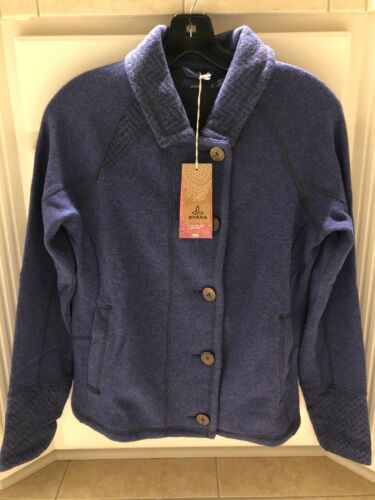 Jacket Wool Women 889760028703 W2luci316 Ny 169 Bluebell Medium Prana Recycled For Lucia t5XnwqH