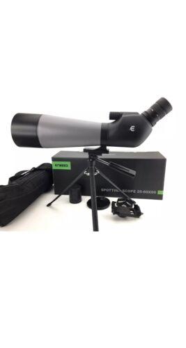 ENKEEO Waterproof Angled Spotting Scope /& Tripod 20-60X80 Multi-Coated Lens NEW