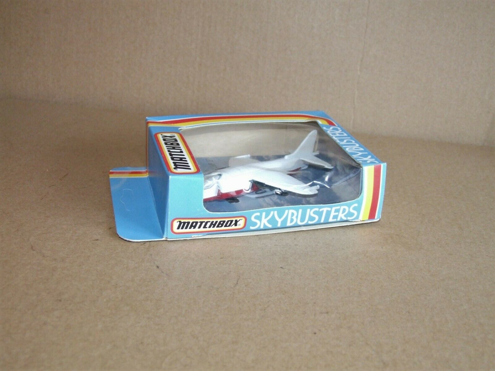 Matchbox Skybusters Pre production   sample SB27 Harrier Jump Jet