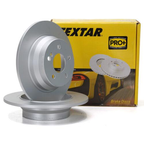 TEXTAR Bremsscheiben für MERCEDES CLS C218 E-KLASSE W211 S211 W212 S212 hinten