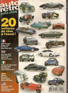 AUTO RETRO Hors Série 1996 ASTON DB4 GT LAMBORGHINI 400GT PORSCHE 959 KHAMSIN