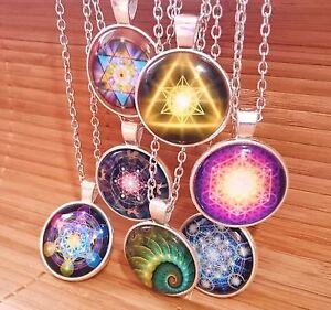Sacred geometry metatrons cube flower of life star david pendant image is loading sacred geometry metatrons cube flower of life star aloadofball Gallery