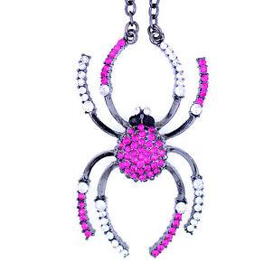 Halloween gótico punk motero vintage retro estilo pendientes de araña