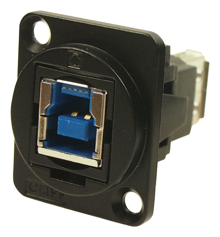 USB 3 ADAPTER TYPE B-TYPE B FEMALE - CP30204NMB