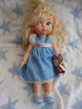 DISNEY STORE CINDERELLA ANIMATOR TODDLER DOLL WITH JAQ