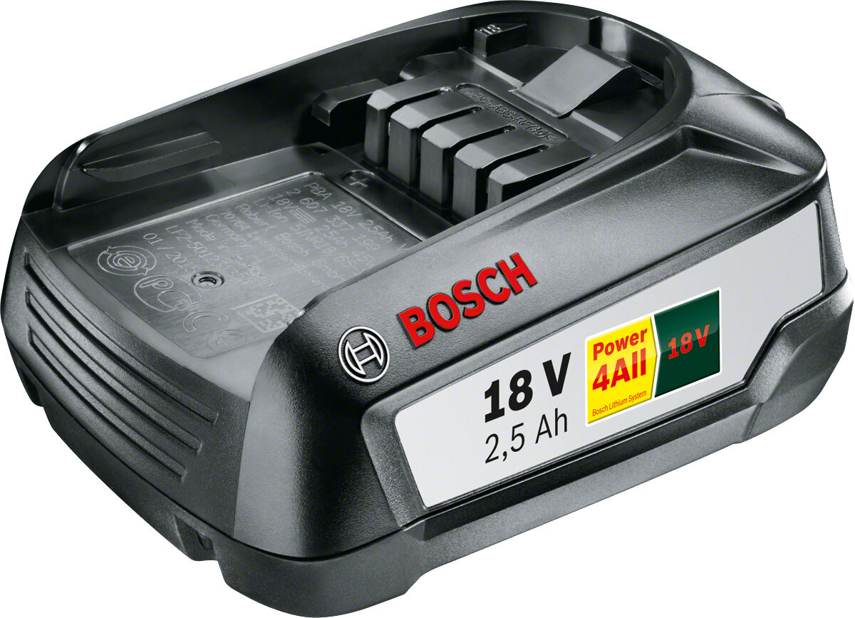 Bosch Akku PBA 18 V LI-Ion - 18 V, 2,5 Ah - Neu  1