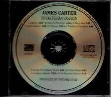 James Carter : In Carterian Fashion CD (1999) PROMO