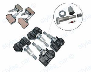 Direct TPMS Sensor Wheel Tyre Pressure Control System To Fit Citroen Fiat
