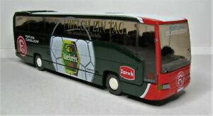 Wiking-1-87-Mercedes-Benz-O-404-RHD-Reisebus-OVP-714-04-Fortuna-Duesseldorf-F95