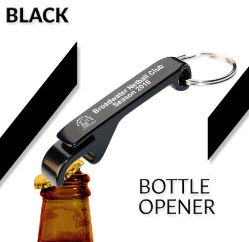 Personalised Key Ring Custom Engraved Wedding Favour Metal Bottle Opener