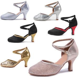 75e7fea2 La imagen se está cargando Zapatos-de-baile-latino-con-tacones-de-salon-