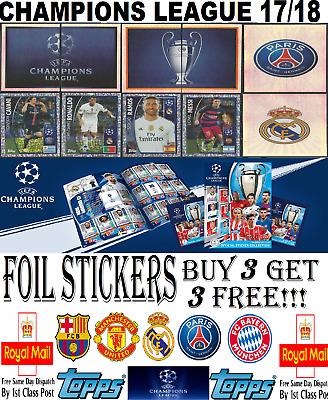 AS Roma Champions League 17//18 Sticker 212 Club Badge