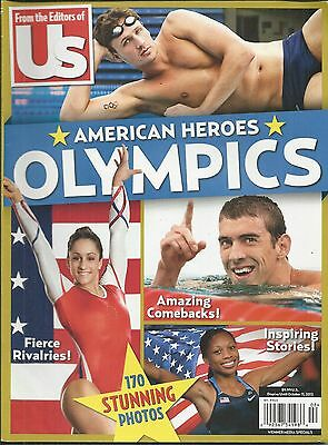 Us Weekly Magazine Olympic Heroes Michael Swimming Gymnastics Soccer Boxing Polo