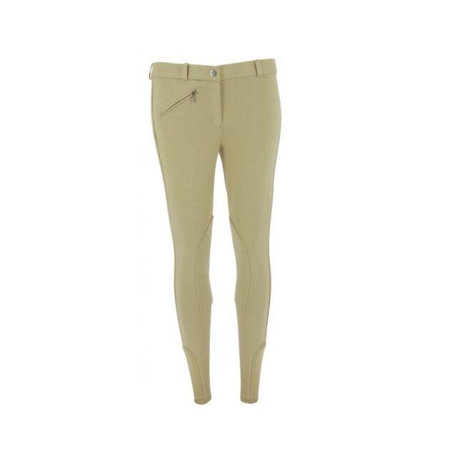 HKM Reithose-Penny Easy-Kniebesatz2525 Beige//Beige34 Pantalon Mixte