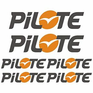 Pilote xl autocollant sticker camping car caravane caravan for Stickers exterieur pour camping car