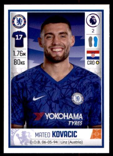 Panini Fútbol 2020-Mateo Kovacic Chelsea nº 182