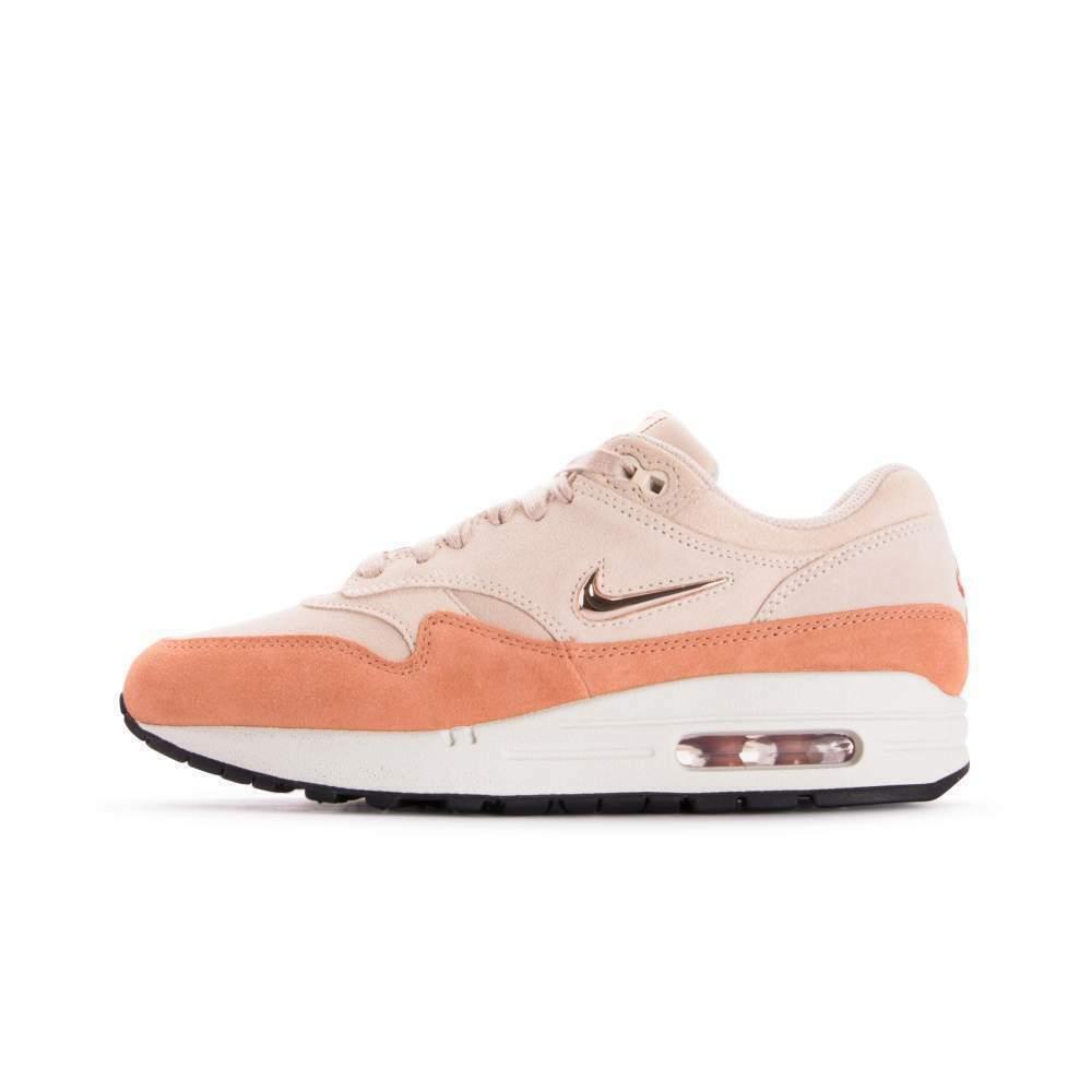 AA0512 800 Nike Women's Air Max 1 Premium SC Guava Ice Mtlc Red Bronze Size 5-12