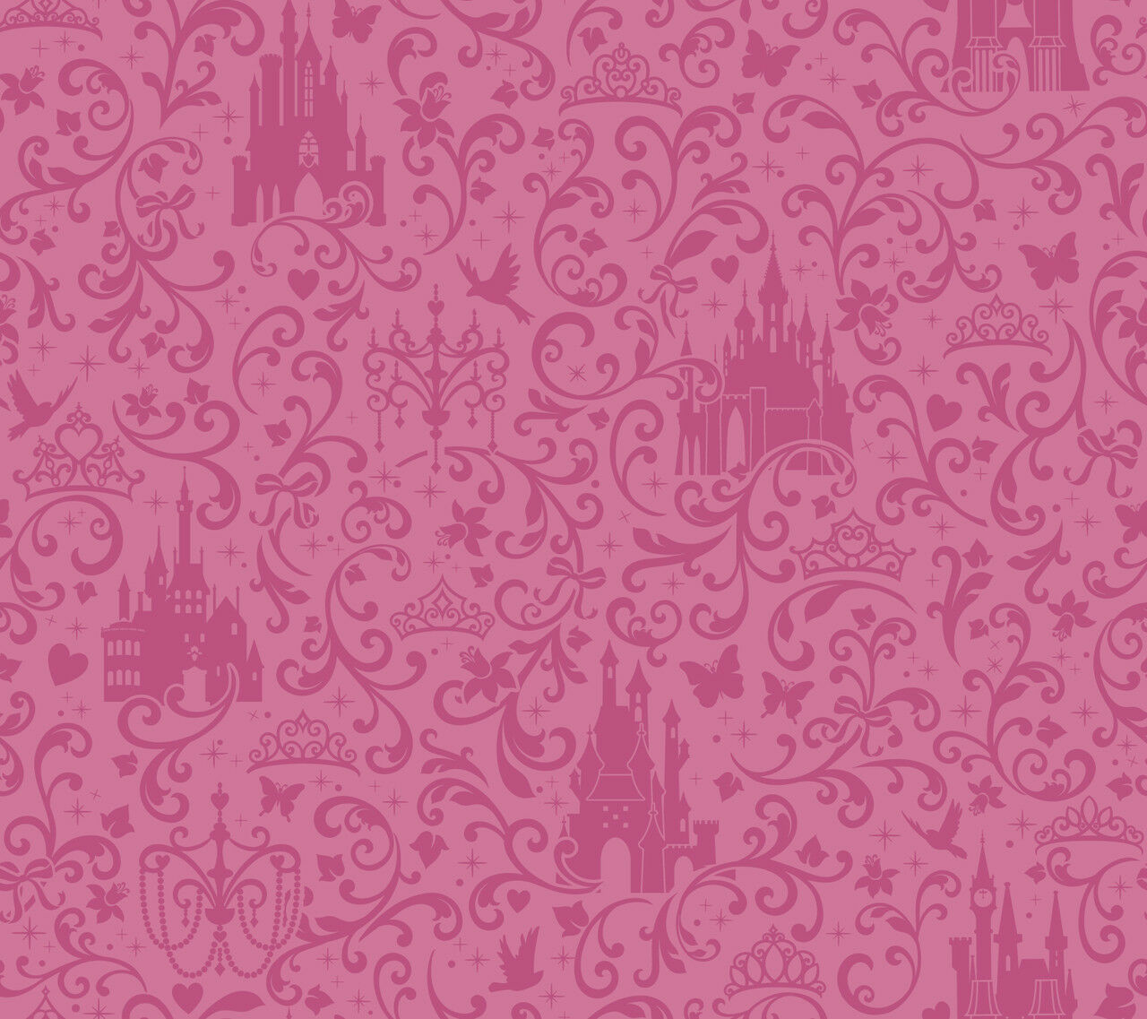 Pucker Up Pink Kissable Lips On Pink Sure Strip Wallpaper Ru8183