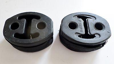 2 Exhaust Rubbers Citroen Relay  HDI Mount Support Silencer Bracket Hanger