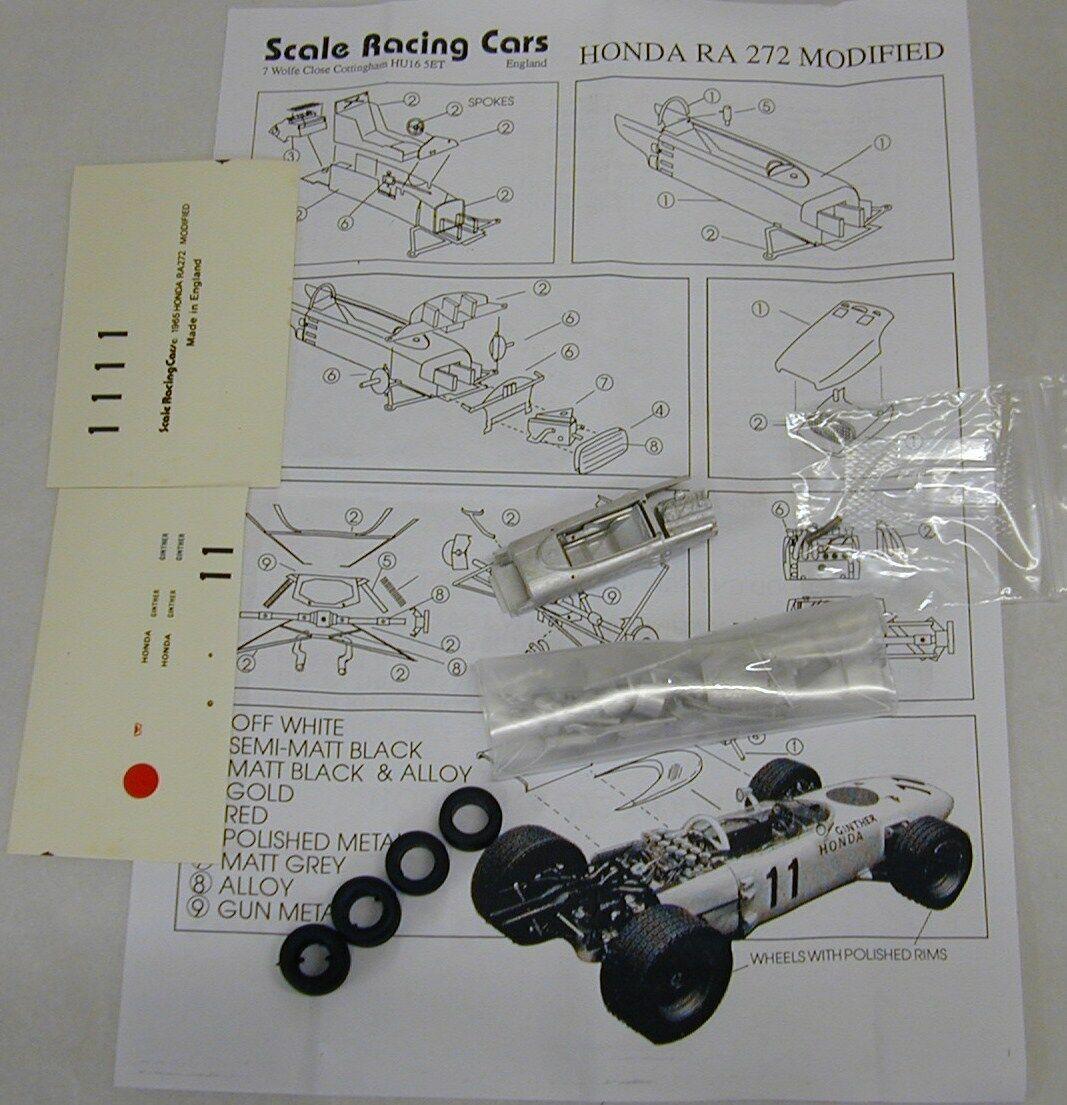 1 43 SRC26K 1965 HONDA Kit RA272 par SMTS