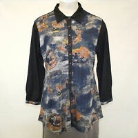 Parsley & Sage Plus Size Fall Winter Tempest Shirt Button Down Blouse 2x