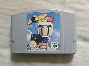 Bomber Man 64 Nintendo 64 N64 juego PAL versión Bomberman
