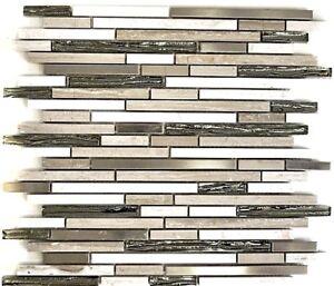 Glasmosaik-Naturstein-Stahl-braun-grau-mix-Wand-Bad-Kueche-Art-WB86-SV85-1-Matte