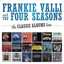 FRANKIE & THE FOUR SEASONS VALLI - THE CLASSIC ALBUMS BOX 18 CD NEU