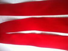 Antico RARO SETA-Taft nastro rosso 4,5cm non sintetica per 1930/40 n. 1