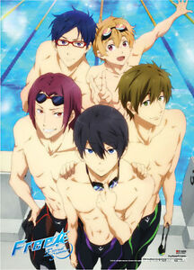 Something Free iwatobi swim club