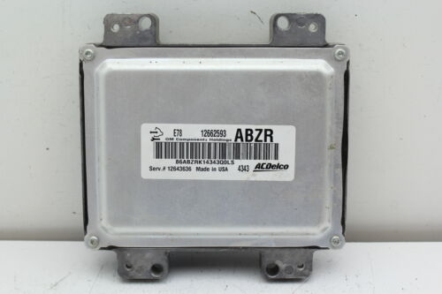 12-16 Chevrolet Cruze 12643636 Computer Brain Engine Control ECU ECM EBX Module