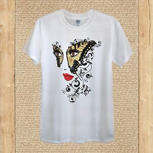 Mudflower 6461 Floral//Butterfly Short Sleeve T-shirt