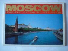 altes seltenes Leporello  MOSCOW-MOSKAU-Ansichtskarten-