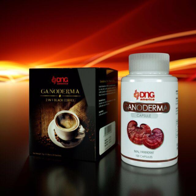 10 BOXES GANODERMA BLACK COFFEE (200 SACHETS) FREE ...